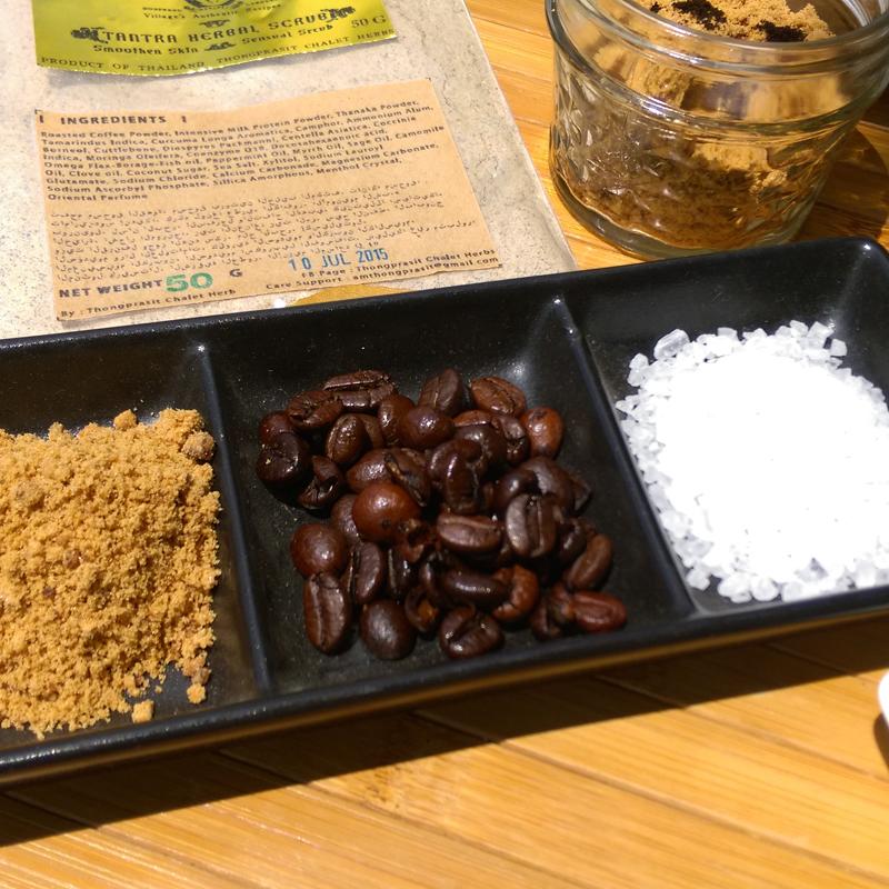 Kaffee Peeling